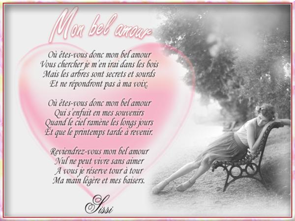 Poeme Amour Souvenirs Baisers