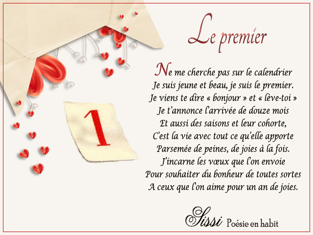 16 Poesie Nouvel An